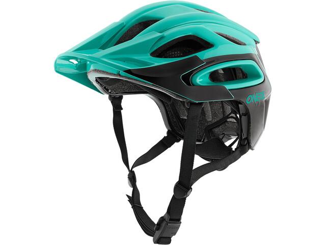 ONeal Orbiter II - Casco de bicicleta - negro/Turquesa